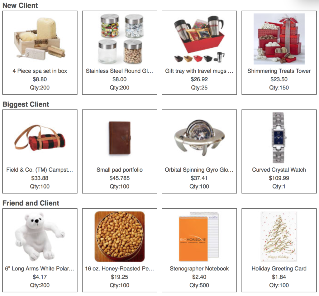 """""""just in time for the holidays, check out our latest gift guide"""""""